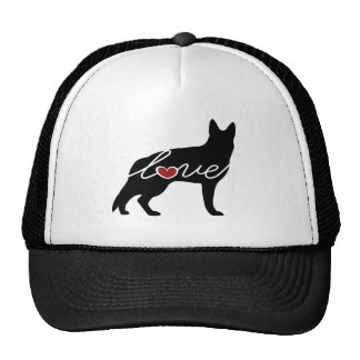 German Shepherd Love Trucker Hat