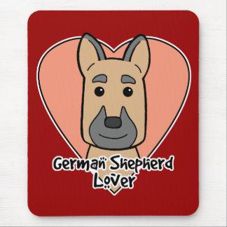 German Shepherd Lover Mouse Pad