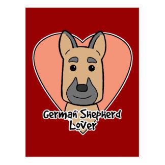 German Shepherd Lover Postcard