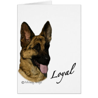 German Shepherd - Loyal Card