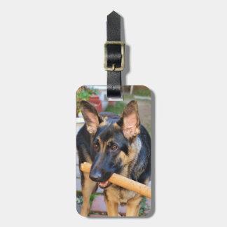 German Shepherd Bag Tag