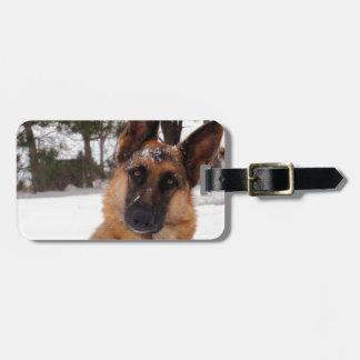 German Shepherd Luggage Tags