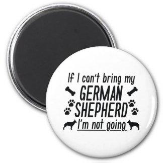 German Shepherd Magnet