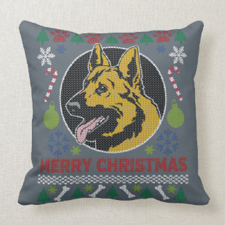 German Shepherd Merry Christmas