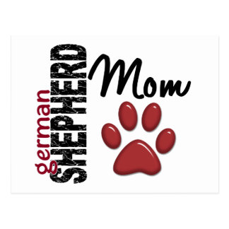 German Shepherd Mom 2 Postcard