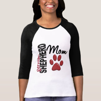 German Shepherd Mom 2 Tee Shirt