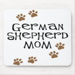 German Shepherd Mom Mouse Mats