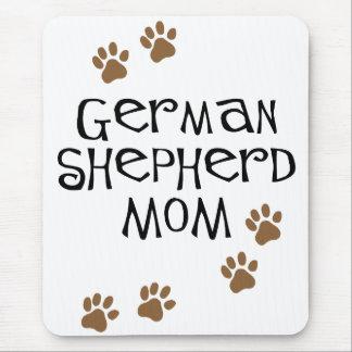 German Shepherd Mom Mouse Pad