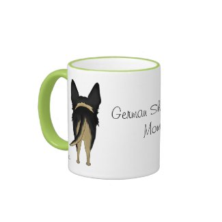 German Shepherd Mom zazzle_mug
