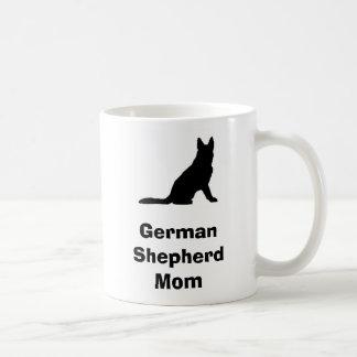 """German Shepherd Mom"" Mug"