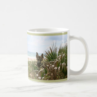 German Shepherd Mom Mug Beachgrass
