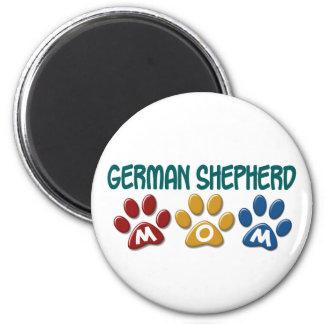 GERMAN SHEPHERD Mom Paw Print 1 Magnet