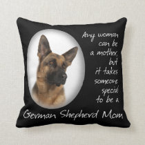 German Shepherd Mom Pillow