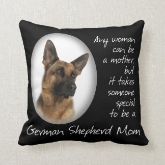 German Shepherd Mom Pillow