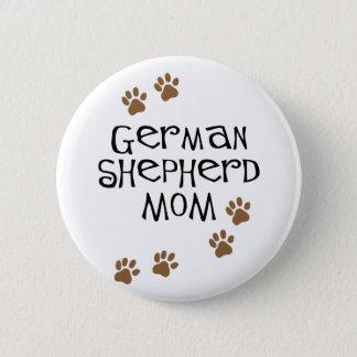 German Shepherd Mom Pinback Button