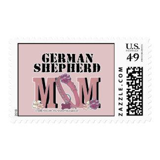 German Shepherd MOM Stamp