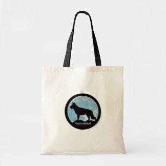 German Shepherd Moon - Coastal GSR Tote Bag