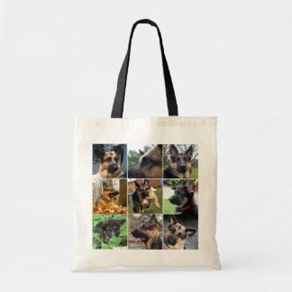 German Shepherd Mosaic Bag