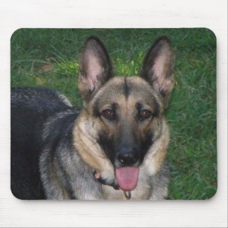 German Shepherd Mousepad mousepad