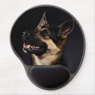 German shepherd mousepad gel mouse pads