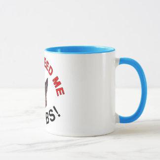 German Shepherd Mug, Don't Feed Me Carbs! Mug