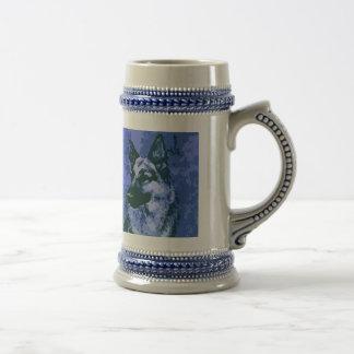 German Shepherd Mug or Stein