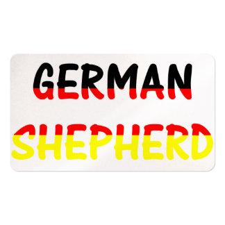 german shepherd name in flag.png business cards