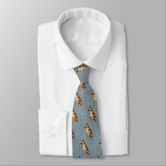 German Shepherd Neck Tie