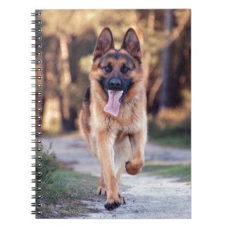 German Shepherd Note Book