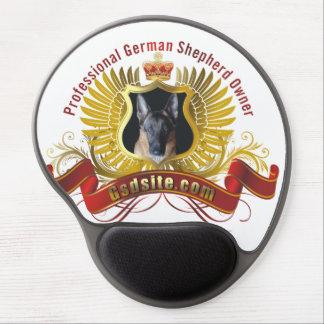 German Shepherd Owner Gel Mousepad
