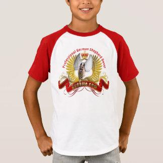 German Shepherd Owner Kids' Sleeve V-Neck T-Shirt