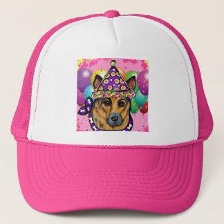 German Shepherd Party Dog Trucker Hat