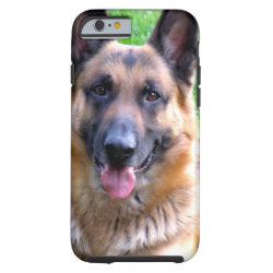 Case-Mate Barely There iPhone 6 Case with German Shepherd Phone Cases design
