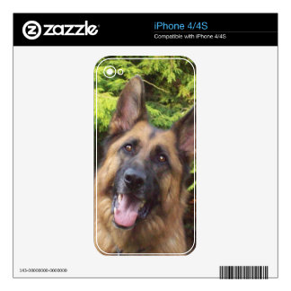 German Shepherd Phone Skin Skin For The iPhone 4S