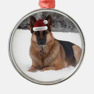 German Shepherd Photo Christmas Ornaments