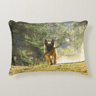 Lovely German Shepherd Pillows Regular Throw