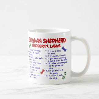 GERMAN SHEPHERD PL2 COFFEE MUG