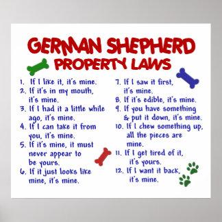 GERMAN SHEPHERD PL2 POSTER