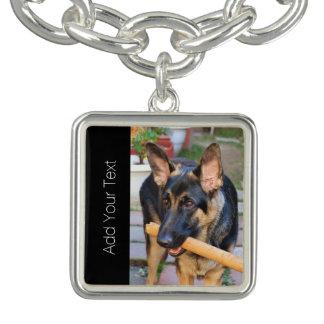 German Shepherd Charm Bracelets