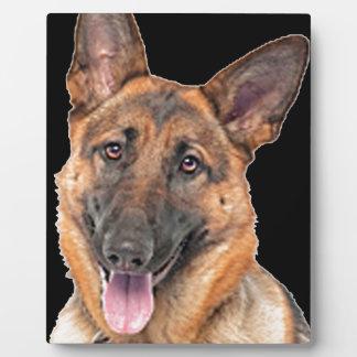 German Shepherd Photo Plaques