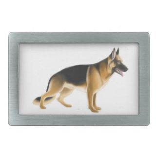 German Shepherd  Police Dog Belt Buckle