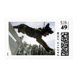 German Shepherd Police Dog Postage