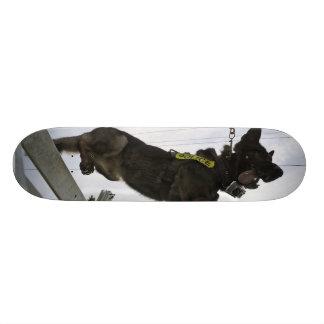 German Shepherd Police Dog Skateboard