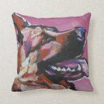 German Shepherd Pop Art Pillow