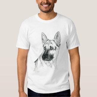 German Shepherd Portrait breed t-shirt
