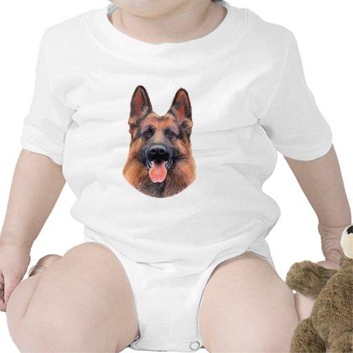 German Shepherd Portrait Tees
