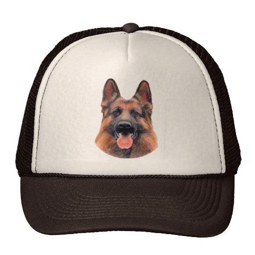 German Shepherd Portrait Trucker Hat