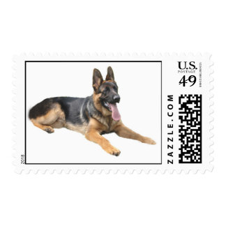 German Shepherd Postage