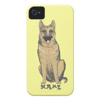 German Shepherd Products customize iPhone 4 Case-Mate Case