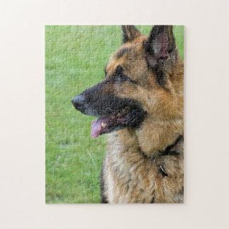 German Shepherd Profile Jigsaw Puzzle
